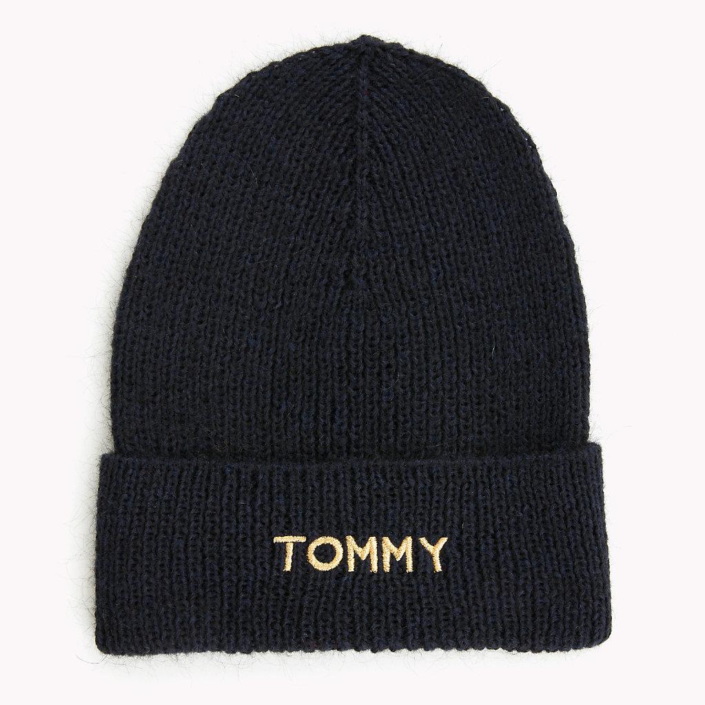 Tommy Hilfiger - Gorro de punto con logo - 1