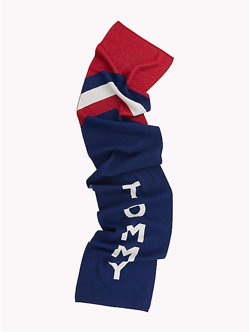 TOMMY JEANS Chevron Logo Scarf - CORPORATE - TOMMY JEANS Bags & Accessories - detail image 1