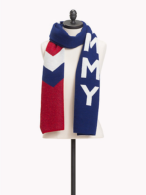 TOMMY JEANS Chevron Logo Scarf - CORPORATE - TOMMY JEANS Shoes & Accessories - main image