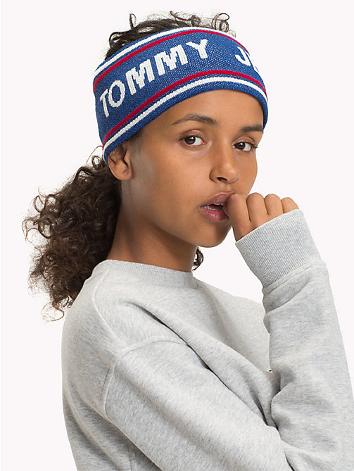 TOMMY JEANS Logo Stripe Headband - CORPORATE - TOMMY JEANS Shoes & Accessories - detail image 1