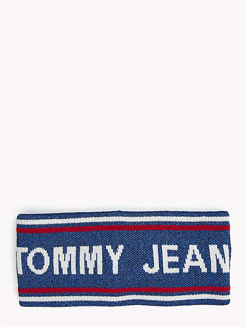 TOMMY JEANS Logo Stripe Headband - CORPORATE - TOMMY JEANS Shoes & Accessories - main image