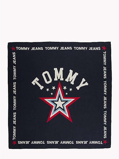 TOMMY JEANS Tommy Jeans Patch Scarf - BLACK IRIS - TOMMY JEANS Scarves - detail image 1