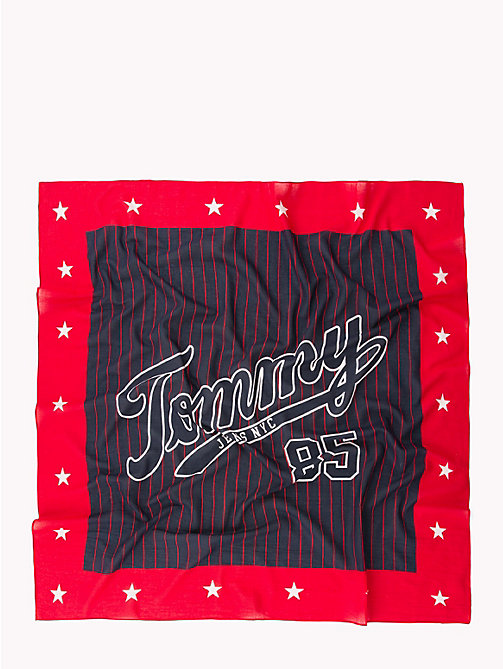TOMMY JEANS Sjaal met Tommy Jeans-logo - CORPORATE - TOMMY JEANS Sjaals - detail image 1