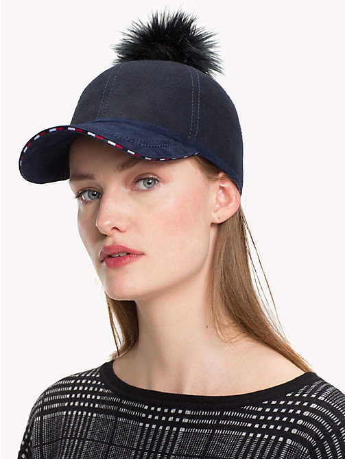 TOMMY HILFIGER Bobble Cap - TOMMY NAVY - TOMMY HILFIGER NEW IN - detail image 1