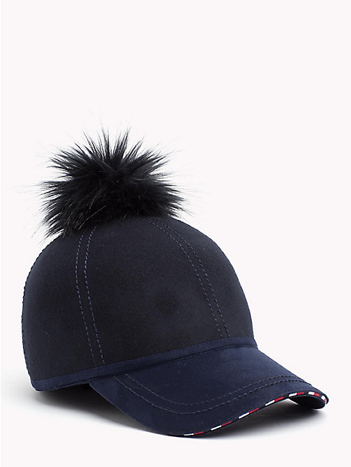 TOMMY HILFIGER Bobble Cap - TOMMY NAVY - TOMMY HILFIGER NEW IN - main image