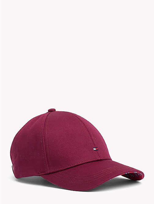TOMMY HILFIGER Classic Baseball Cap - BURGUNDY - TOMMY HILFIGER Caps & Beanies - main image