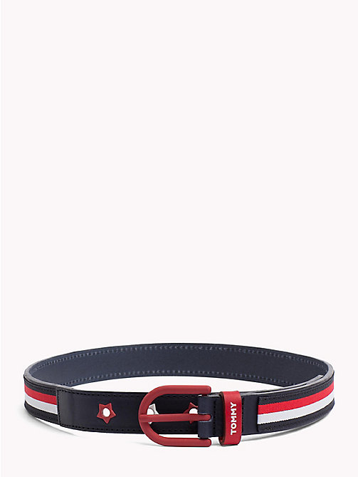 TOMMY HILFIGER Corporate Girls Leather Belt - CORPORATE - TOMMY HILFIGER Girls - main image