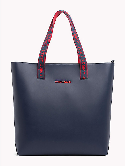TOMMY JEANS Boxy Tote Bag - BLACK IRIS - TOMMY JEANS Shoes & Accessories - main image