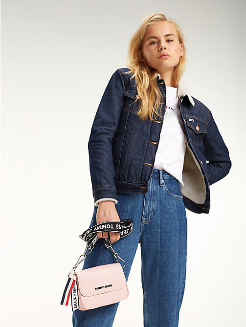 TOMMY JEANS Boxy Crossover Bag - SILVER / PINK - TOMMY JEANS Shoes & Accessories - detail image 1