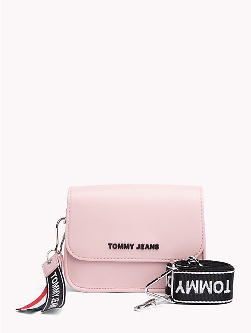 TOMMY JEANS Boxy Crossover Bag - SILVER / PINK - TOMMY JEANS Shoes & Accessories - main image
