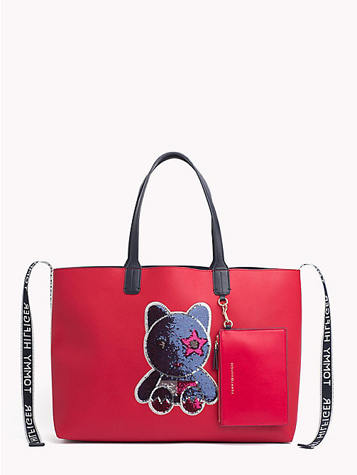 TOMMY HILFIGER Tote-Bag mit Mascot - MASCOT - TOMMY HILFIGER NEW IN - main image