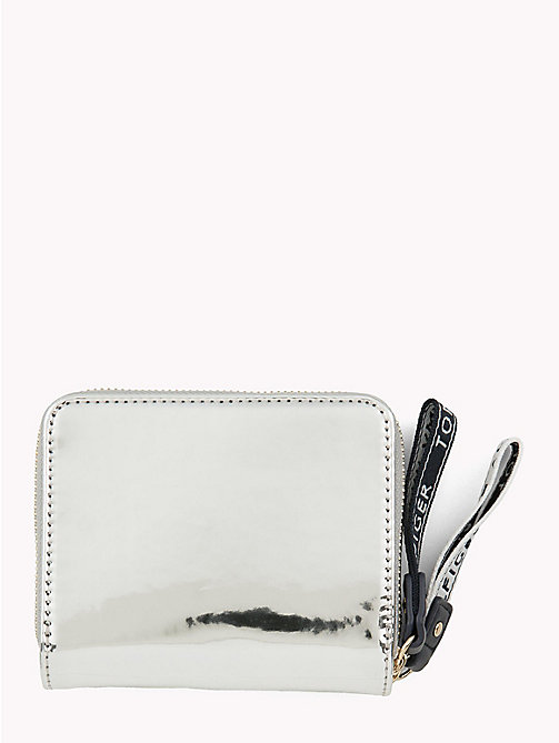 TOMMY HILFIGER Mirror Metallic Logo Purse - METALLIC - TOMMY HILFIGER Wallets - detail image 1