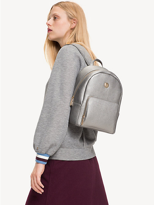 TOMMY HILFIGER TH Core Small Backpack - PEWTER - TOMMY HILFIGER Backpacks - detail image 1