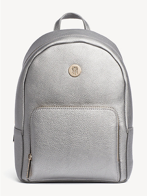 TOMMY HILFIGER TH Core Small Backpack - PEWTER - TOMMY HILFIGER Backpacks - main image
