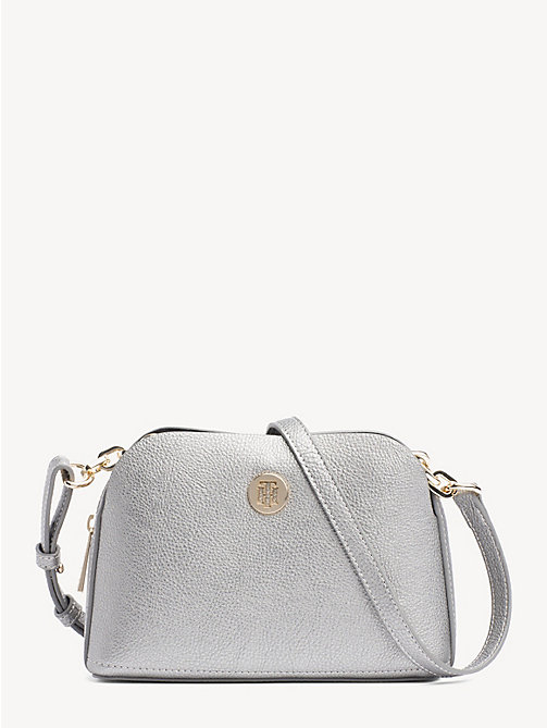 TOMMY HILFIGER TH Core crossbodytas - PEWTER - TOMMY HILFIGER Partylooks - main image