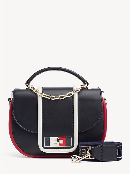 New Tommy Hilfiger Th Fancy Leather Crossover Bag Corporate Party Looks Main