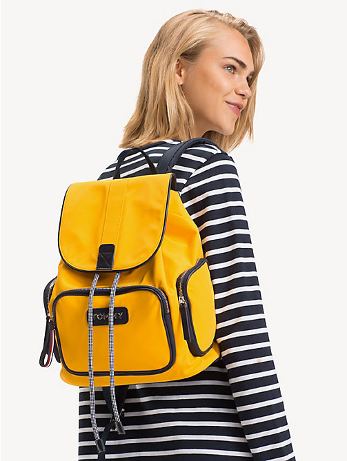 TOMMY HILFIGER Varsity Backpack - CITRUS - TOMMY HILFIGER Backpacks - detail image 1