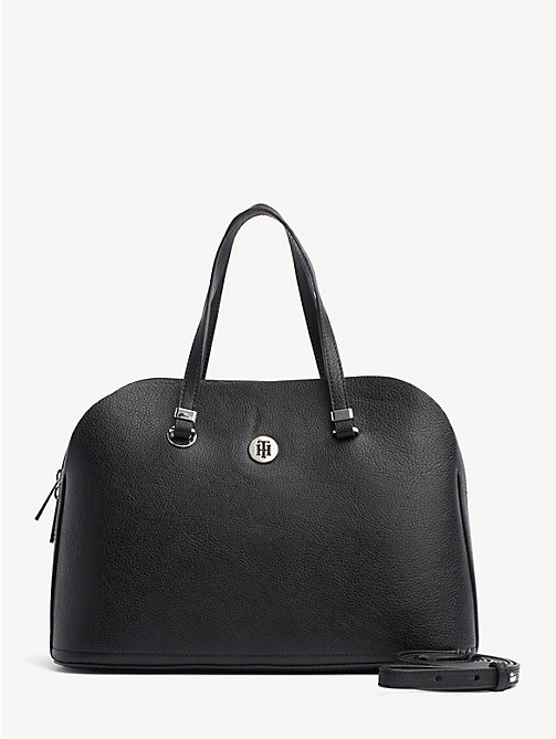 TOMMY HILFIGER TH Core Satchel - BLACK - TOMMY HILFIGER Satchel Bags - main image