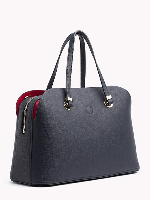 TOMMY HILFIGER TH Core Satchel - TOMMY NAVY - TOMMY HILFIGER Satchel Bags - detail image 1
