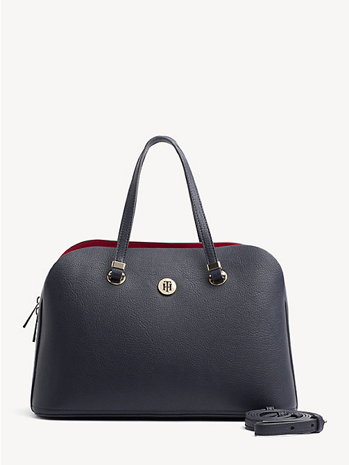 TOMMY HILFIGER TH Core Satchel - TOMMY NAVY - TOMMY HILFIGER Satchel Bags - main image