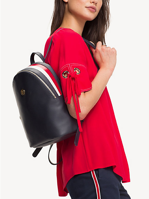 TOMMY HILFIGER Effortless Saffiano Backpack - CORPORATE - TOMMY HILFIGER Backpacks - detail image 1