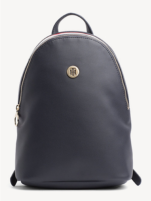 TOMMY HILFIGER Effortless Saffiano Backpack - CORPORATE - TOMMY HILFIGER Backpacks - main image