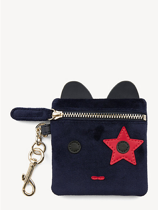 TOMMY HILFIGER Mascot Keyring Pouch - TOMMY NAVY - TOMMY HILFIGER Stocking Stuffers - main image