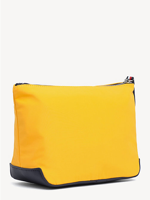 TOMMY HILFIGER Varsity Washbag - CITRUS - TOMMY HILFIGER Make-up Bags - detail image 1