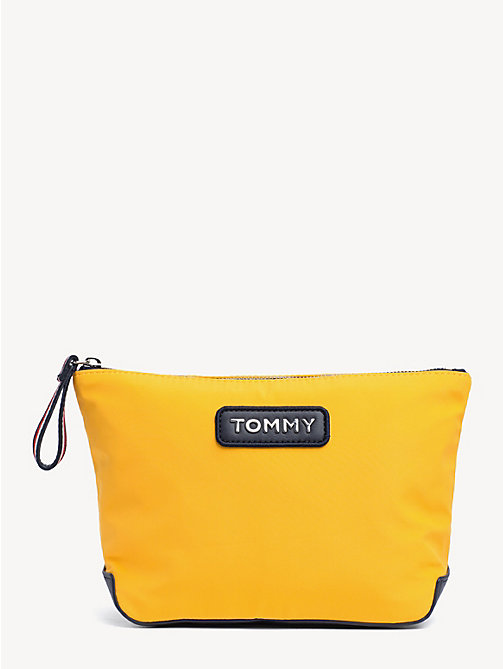 TOMMY HILFIGER Varsity Washbag - CITRUS - TOMMY HILFIGER NEW IN - main image