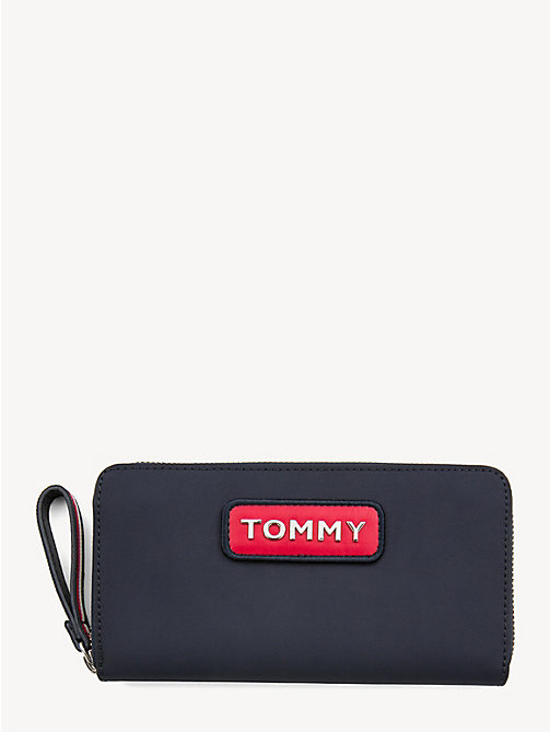 TOMMY HILFIGER Grote colour-blocked portemonnee - CORPORATE - TOMMY HILFIGER Portemonnees - main image