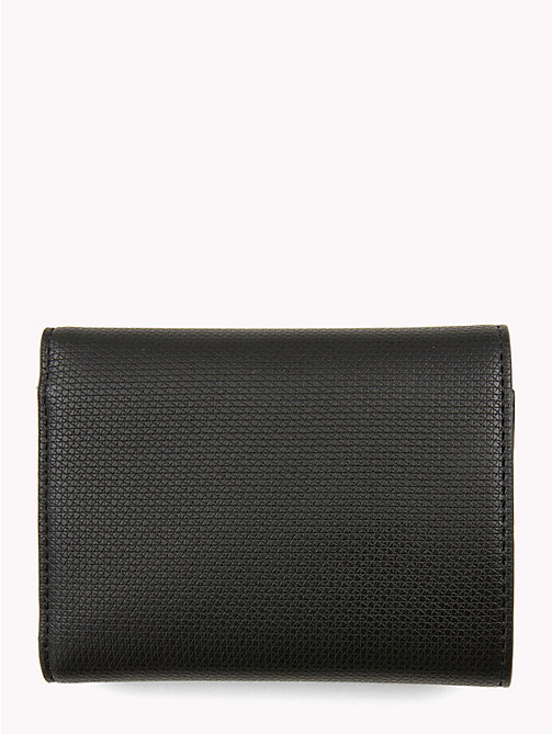 TOMMY HILFIGER Effortless Monogram Plaque Wallet - BLACK - TOMMY HILFIGER Wallets - detail image 1
