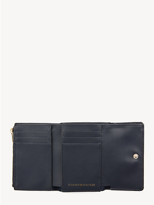 TOMMY HILFIGER Effortless Monogram Plaque Wallet - CORPORATE - TOMMY HILFIGER Wallets - detail image 1