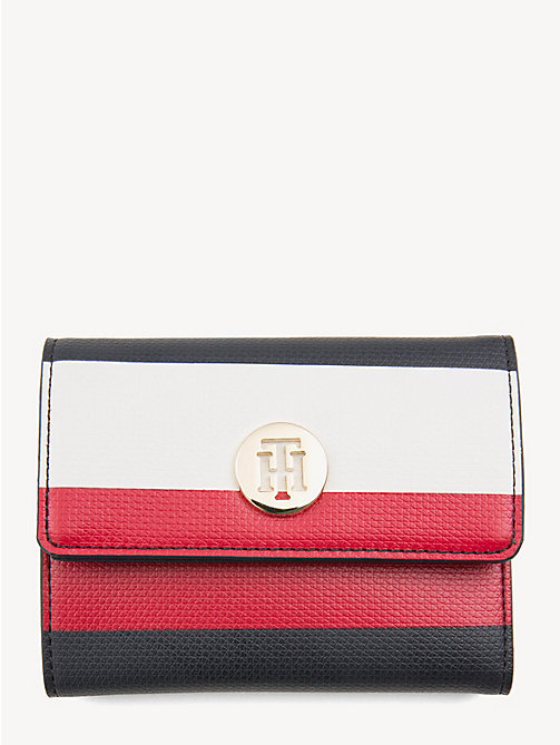 TOMMY HILFIGER Effortless Monogram Plaque Wallet - CORPORATE - TOMMY HILFIGER Wallets - main image