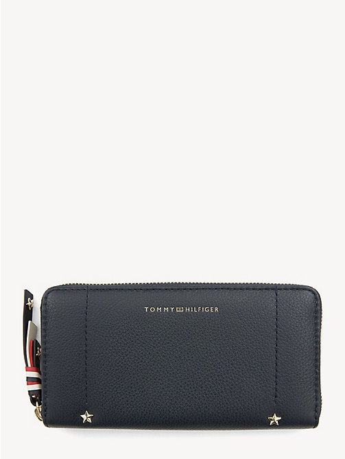 TOMMY HILFIGER Heritage Leather Continental Wallet - TOMMY NAVY - TOMMY HILFIGER Wallets - main image