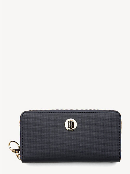 TOMMY HILFIGER Effortless Continental Wallet - TOMMY NAVY - TOMMY HILFIGER Wallets - main image