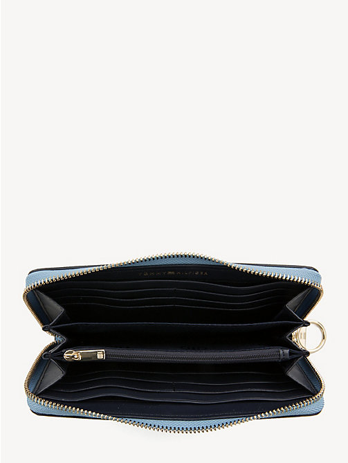 TOMMY HILFIGER Effortless Continental Wallet - DUSK BLUE - TOMMY HILFIGER NEW IN - detail image 1