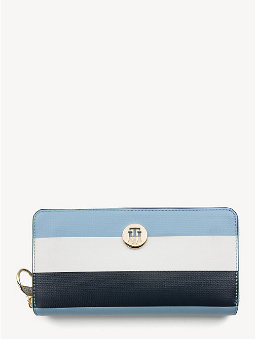 TOMMY HILFIGER Effortless Continental Wallet - DUSK BLUE - TOMMY HILFIGER NEW IN - main image