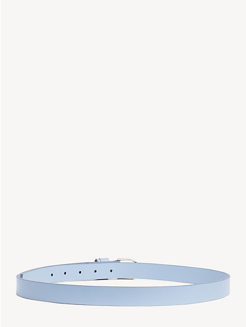 TOMMY HILFIGER Classic Leather Belt - DUSK BLUE - TOMMY HILFIGER NEW IN - detail image 1