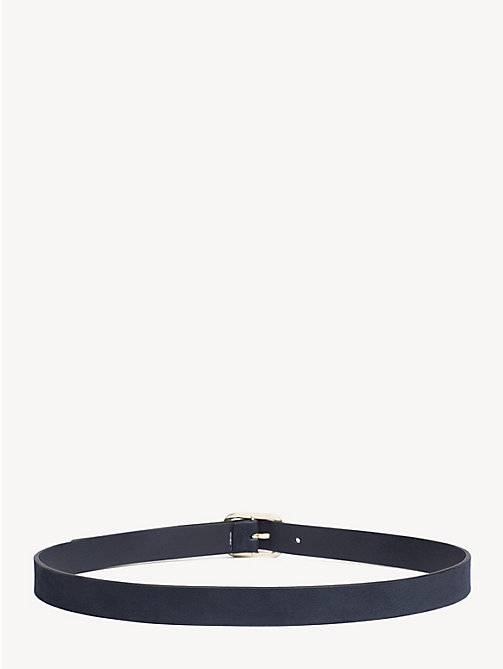 TOMMY HILFIGER Colour-Blocked Leather Belt - CORPORATE - TOMMY HILFIGER Belts - detail image 1