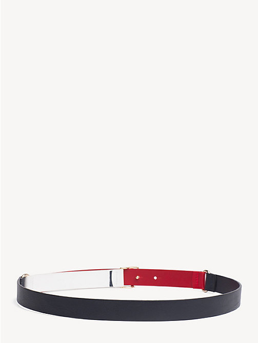 TOMMY HILFIGER Monogram Leather Belt - CORPORATE - TOMMY HILFIGER NEW IN - detail image 1