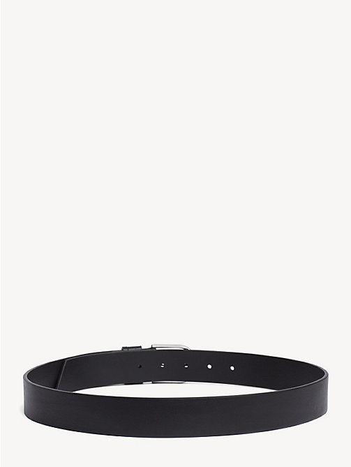 TOMMY HILFIGER Classic Leather Belt - BLACK - TOMMY HILFIGER Belts - detail image 1