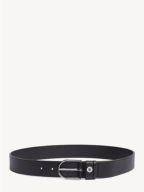TOMMY HILFIGER Classic Leather Belt - BLACK - TOMMY HILFIGER NEW IN - main image