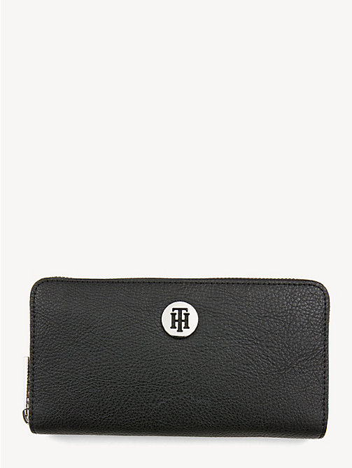 TOMMY HILFIGER TH Core Continental Wallet - BLACK - TOMMY HILFIGER Wallets - main image