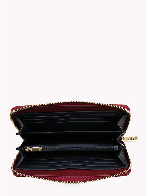 TOMMY HILFIGER TH Core Continental Wallet - CABERNET - TOMMY HILFIGER NEW IN - detail image 1