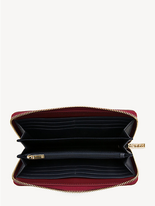 TOMMY HILFIGER TH Core Continental Wallet - CABERNET - TOMMY HILFIGER Wallets - detail image 1