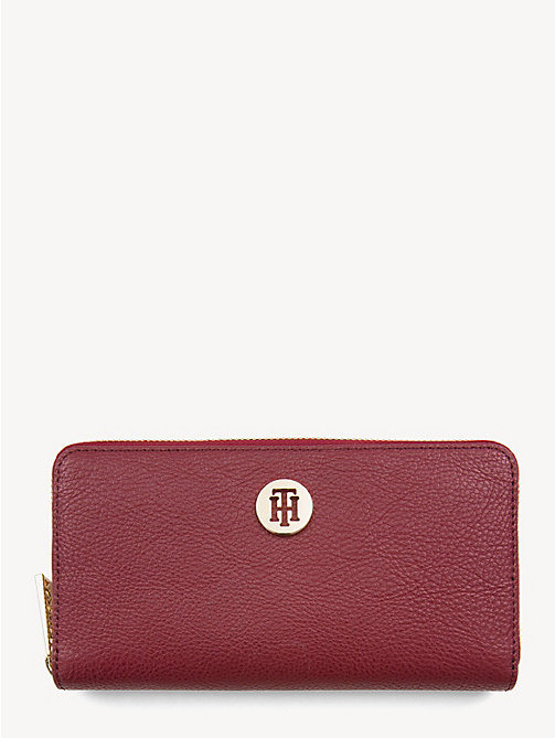 TOMMY HILFIGER TH Core Continental Wallet - CABERNET - TOMMY HILFIGER NEW IN - main image