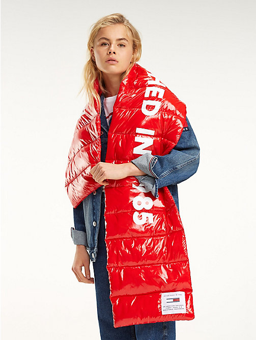 TOMMY JEANS TJ Modern Puffer Scarf - SAMBA - TOMMY JEANS Shoes & Accessories - main image