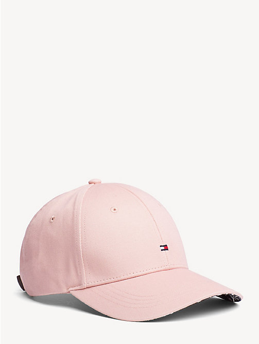 TOMMY HILFIGER Print Baseball Cap - CORAL CLOUD - TOMMY HILFIGER Caps & Beanies - main image