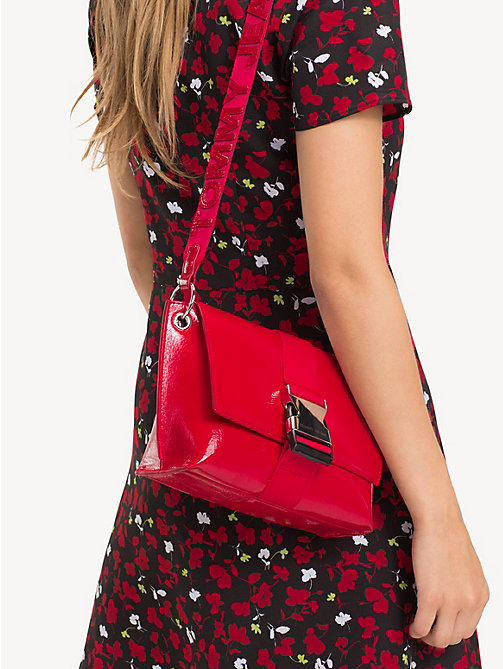 TOMMY JEANS TJ Modern Patent Crossbody Bag - SAMBA - TOMMY JEANS Shoes & Accessories - detail image 1