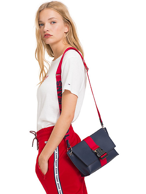 TOMMY JEANS TJ Modern Crossbody Bag - BLACK IRIS - TOMMY JEANS Shoes & Accessories - detail image 1